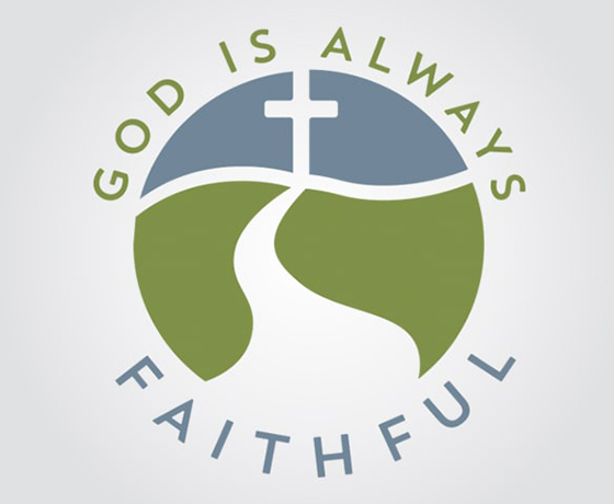 God is Always Faithful Logo Design