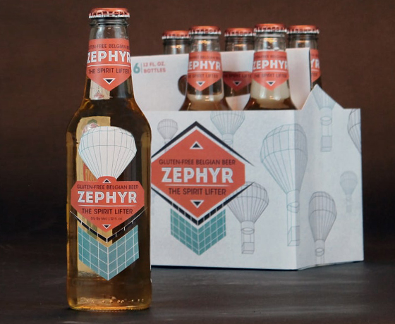 Zephyr Beer Packaging